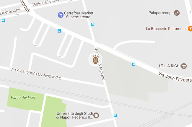 Hotel Villa Maria Napoli - Map